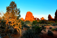 Sunrise at Turret Arch, Arches NP